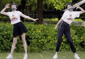 竟然和妈妈一起跳舞?野餐踏春vlog
