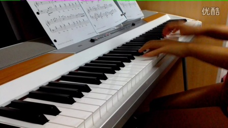时间都去哪儿了电钢琴演奏ko