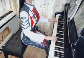 【钢琴】《人类之光》迪迦奥特曼Ost  致在一线战斗的医务工作者们
