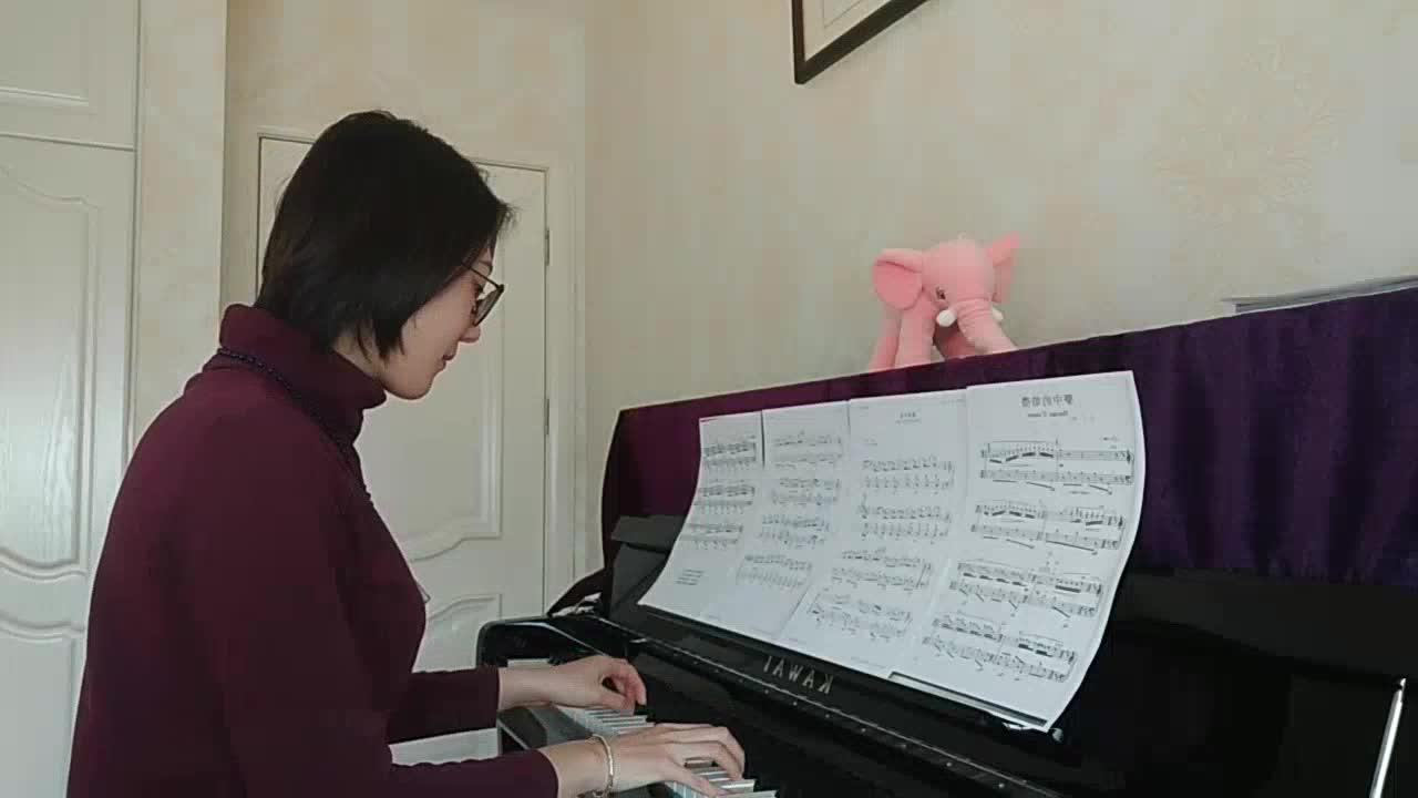 手指飞舞77 发布了一个钢琴弹奏视频,欢
