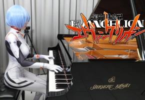 新世纪福音战士「残酷天使的行动纲领 New Ver.」钢琴演奏 Ru,s Piano