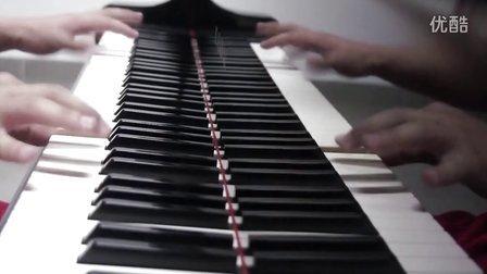 摇滚卡农超级疯狂钢琴版 连帅