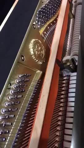 我用布什戈尔茨钢琴CH-3,弹了一个熟悉