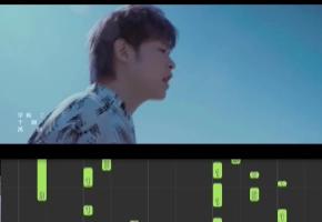 【想见你】音乐电影  姜创钢琴 即兴伴奏