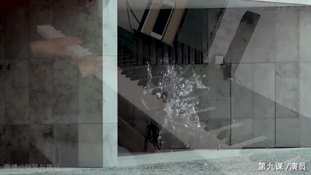 薛之谦《演员》,钢琴MV版,这几天骨头都忙散架了。。。