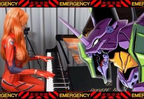 新世纪福音战士 战斗曲「Decisive Battle」钢琴演奏 Ru,s Piano