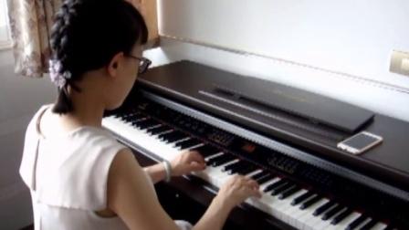 《爱的供养》钢琴版 杨启铭
